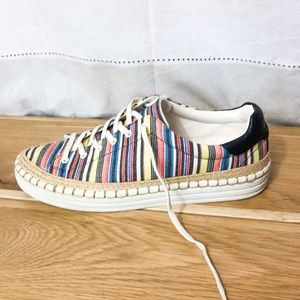 Sam Edelman striped sneakers